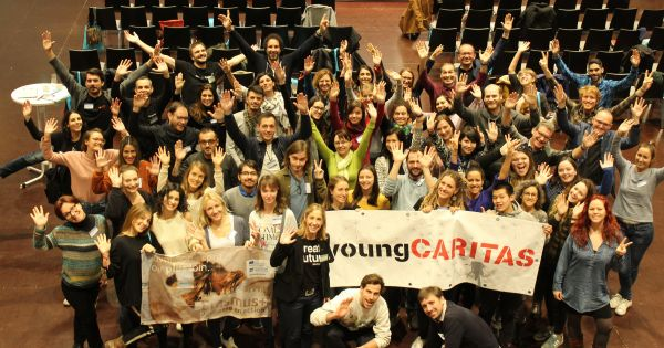 young caritas za peticijo